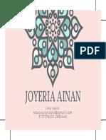 JOYERIA AINAN