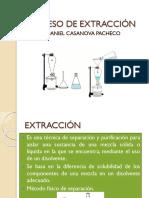 Proceso de Extracción