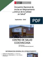 Proyecto de Cc Ss Ccochaccasa