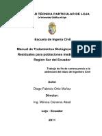 TRATAMIENTOS BIOLoGICOS DE AGUAS RESIDUALES PARA POBLACIONES.pdf