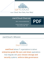 OwnCloud - Austrian Chambers of Commerce - Club IT - Vienna