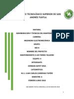 Proyecto Tufiño Del Torno - Taladro .....
