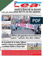 Periódico Lea Lunes 11 de Junio Del 2018
