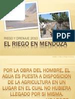 El Riego en Mendoza
