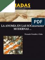 La Anomia en Las Sociedades Mod - GonzA!Lez y GalA!n, Fernando(Au
