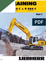 Liebherr r934 r984 Excavator Manual