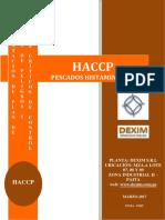 HACCP ESPECIES HISTAMINICAS