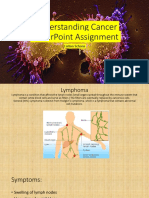 Understanding Cancer PowerPoint Assignment