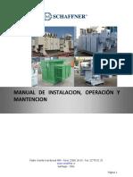 Manual de Instalación, Operación y Mantención NP 78483_rev2