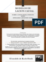 Modelos de Relacion Causal