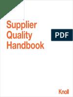 Knoll Supplier Quality Handbook