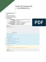 EXAMEN FINAL Análisis Y Diseño de Sistemas de Información UNIVERSIDAD TELESUP  EXAM. FINAL