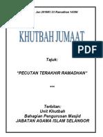 08.06.2018 (Rumi) Pecutan Terakhir Ramadhan