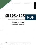 Sh125 3 Sh135x 3 Training Text