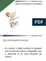 O Olhar Psicopedagógico Nas Dificuldades de Aprendizagem - Dra. Nadia a. Bossa
