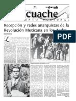 Recepción y redes anarquistas de la Revolución Mexicana en los Andes