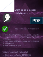 Vitalik Buterin-So You Want to Be a Casper Validator