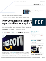 Amazon How Amazon Missed Three Opportunities to Acquire Flipkart