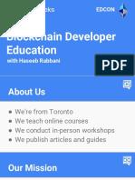 Haseeb Rabbani-Developer Education and Bounty Systems
