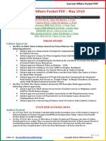 Current Affairs Pocket PDF - May 2018 by AffairsCloud