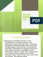 Renstra Kemenkes 2010-2014(1)