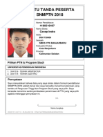 Kartu Pendaftaran SNMPTN 2018 4180516467