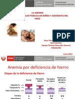 1.- situacion de la anemia en niños y gestantes - 2015.ppt