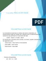 Volumetrias Acido Base