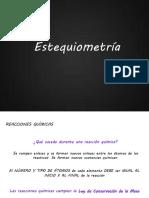 Unidad 5 - Reacciones Químicas y Estequiometría