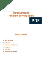 Problem Solving Tools