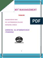 Inventory Management Nalco