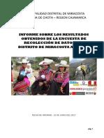 Informe de Encuestas Miracosta