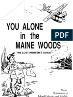 Alone in the Maine Woods 72 Pg