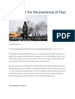 Politics and the Neuroscience of Fear