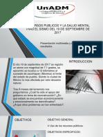 RECURSOS Y SALUD MENTAL TRAS EL SISMO DEL.pptx