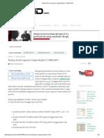 Rumus Excel Laporan Cepat Model C1-KWK.kpu