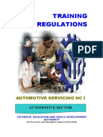 TR - Automotive Servicing NC I