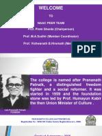 Prananath Autonomous Naac Principal Presentation