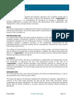 Model Internal Audit Activity Charter 2a
