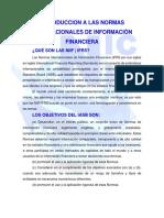 Introduccion a Las Normas Internacionales de Información Financiera
