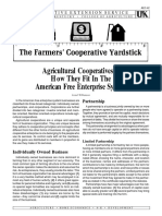 Agricultural Cooperatives—How They Fit in the American Free Enterprise System