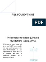 1 Pile Foundations