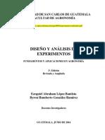 Diseño y Análisis de Experimentos