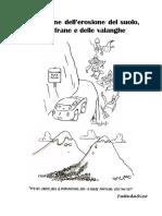 Dispense Prevenzione Dell'Erosione Del Suolo, Delle Frane e Delle Valanghe