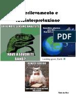 Dispense Telerilevamento e Fotointerpretazione