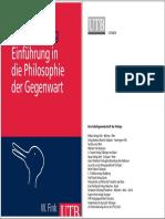 Reiner Ruffing Einführung in die Philosophie der Gegenwart S.1-16