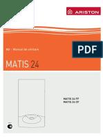 Manual Ariston Matis 24ff