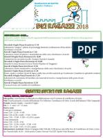 Campi Solari 2018