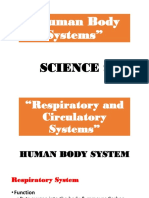 Human Body Systems PPT 2016