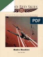 Blood Red Skies Rulebook